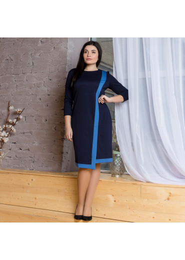 Сукня жіноча Margarita (джерсі синій)