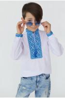 Сорочка для хлопчика Милодар (сорочкова біла)