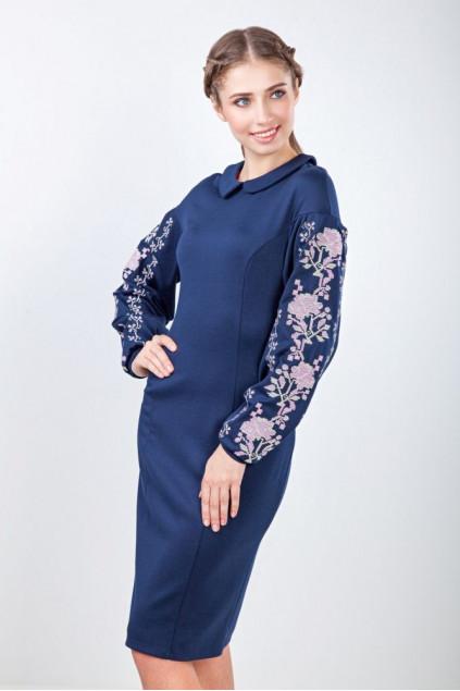 Сукня жіноча Світояра (джерсі синій)
