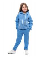 Штани для дітей (Футер з начісом блакитний)