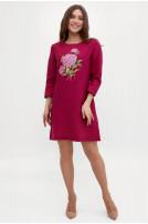 Сукня жіноча Гортензія (Льон фуксія)