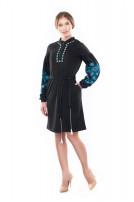 Сукня жіноча Добролюба (джерсі чорний)