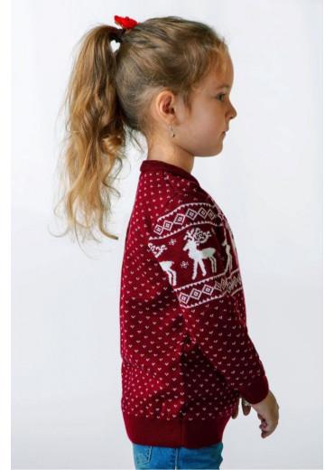 Светр вязаний для дівчинки (102)
