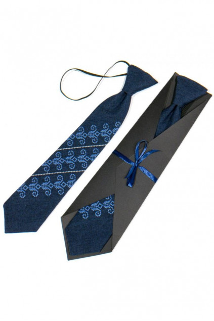 Дитяча вишита краватка (779)