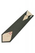 Дитяча вишита краватка з льону (672)