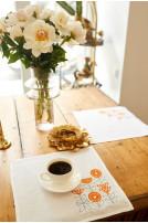 Серветка столова Hugge (Льон білий)