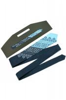 Вузька краватка з вишивкою