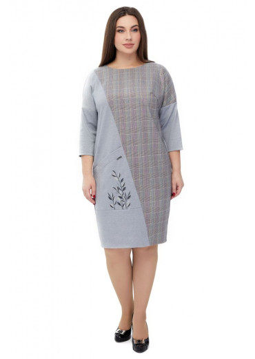 Сукня жіноча Єремія (джерсі світло-сірий)