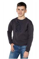Світшот дитячий ETHNO (Футер з начісом графіт)