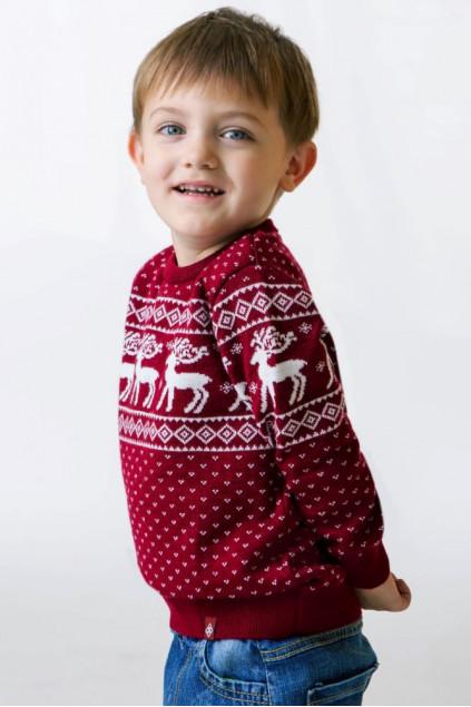 Светр вязаний для хлопчика (102)