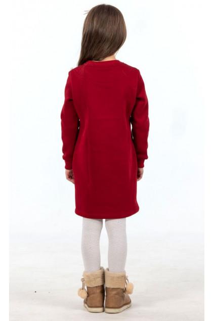 Сукня для дівчинки трикотажна (249)/104см-116см