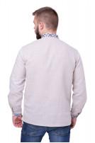 Сорочка чоловіча Подолян (льон сірий)