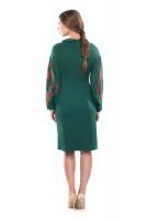 Сукня жіноча Огнеслава (джерси темно-зелений)