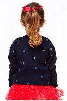 Светр вязаний для дівчинки (101)