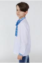 Сорочка для хлопчика Світозар (сорочкова біла)