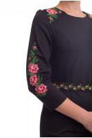 Сукня жіноча Меланія (костюмна чорна)