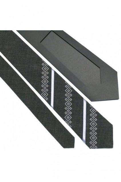 Оригінальна краватка з вишивкою (757)