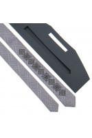 Вузька краватка з вишивкою (916)