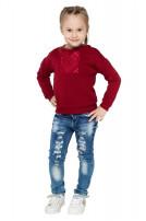 Світшот дитячий ETHNO (Футер з начісом бордовий)