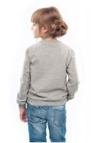 Світшот для дівчинки  Живка (Футер сірий)
