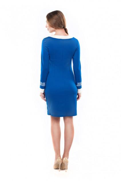 Сукня жіноча Маланка (джерсі синій)