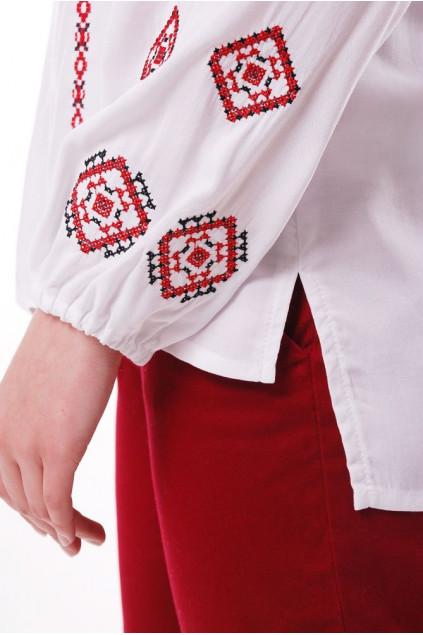 Блуза жіноча Світогора (Штапель білий)