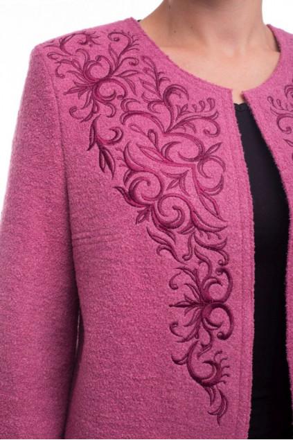 Накидка жіноча Вогняна (Пальтова рожевий)