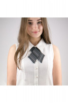 Крос краватка з вишивкою жіноча (701)