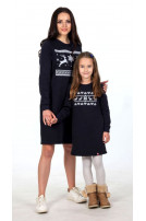 Сукня для дівчинки трикотажна (250)/122см-152см