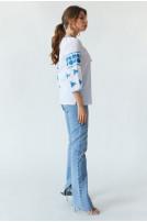 Блуза жіноча Ружа (батист білий)