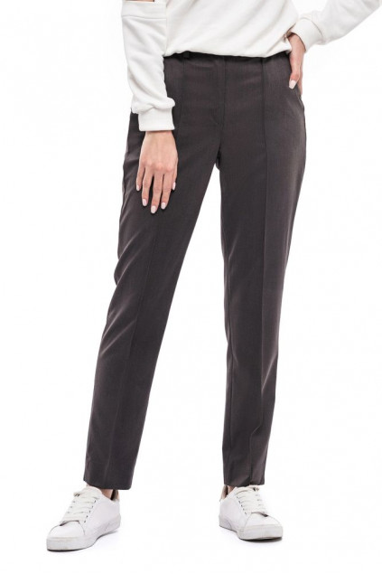 Жіночі штани (Костюмна сірий)