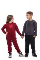 Штани для дітей (Футер з начісом чорний)