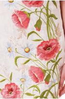 Сукня жіноча Ромашкове поле (льон молочний)