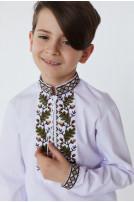Сорочка для хлопчика Дубочок (Сорочкова білий)