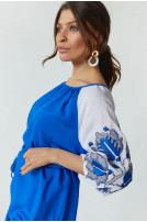 Туніка жіноча Світозара (Штапель  індіго)