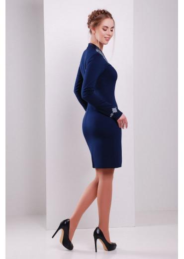 Сукня жіноча Іванна (джерсі синій)