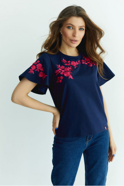 Блуза жіноча трикотажна (095)