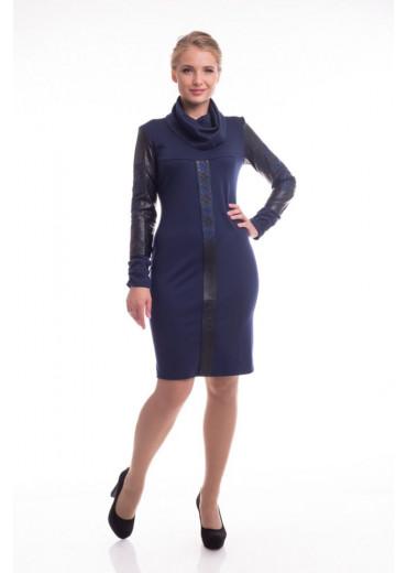 Сукня жіноча Хміль (Джерсі синій)