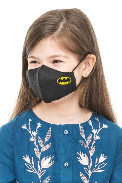 Маска захиcтна дитяча Бетмен (Льон чорний)