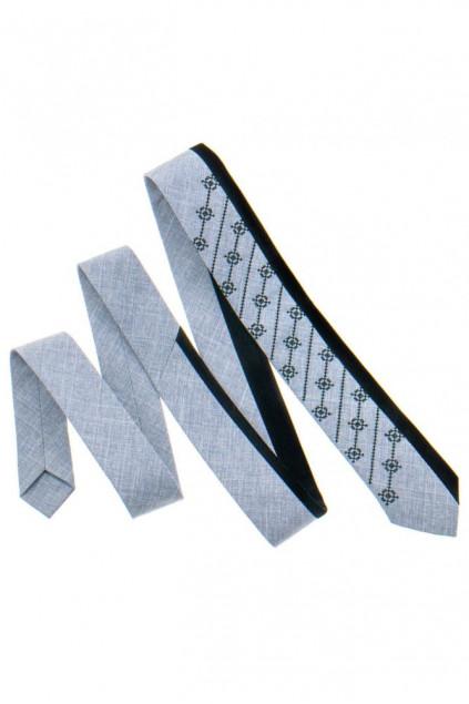 Оригінальна краватка з вишивкою (816)