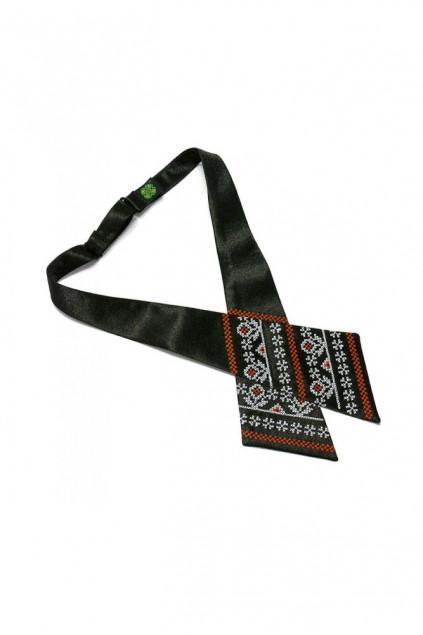 Крос краватка з вишивкою жіноча