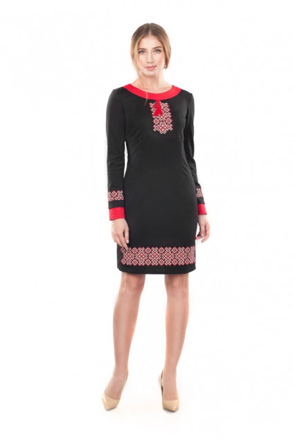 Сукня жіноча Маланка (джерсі чорний)